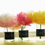 Mother's Day Chalkboard Vase