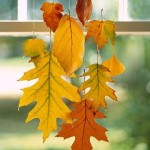 Wax Leaves Fall Decor