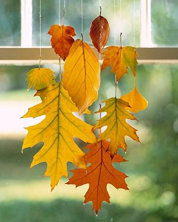 Wax Leaves for Fall Decor - Fun Holiday Crafts