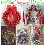 Holiday Ornament Wreaths