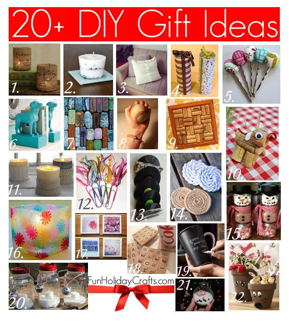 Great Diy Christmas Gift: 20+ DIY Christmas Gift Ideas