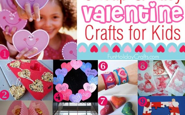 cheap and easy valentine crafts for kids