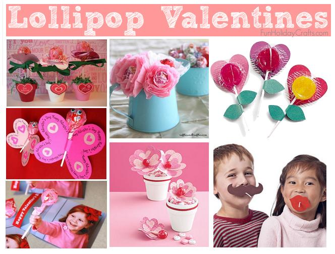 DIY Lollipop Valentine Ideas