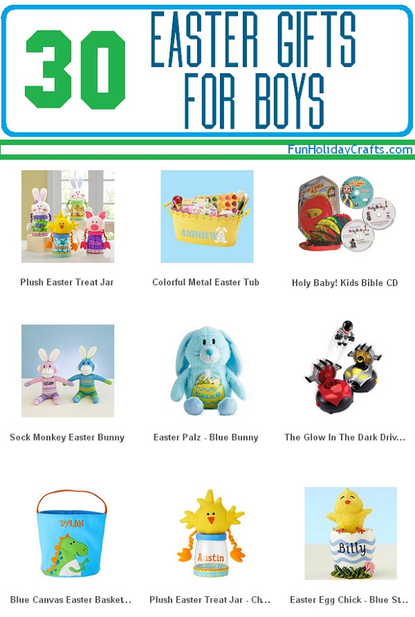 30 easter gift ideas for boys negle Image collections