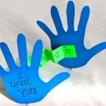 diy hand fathers day craft
