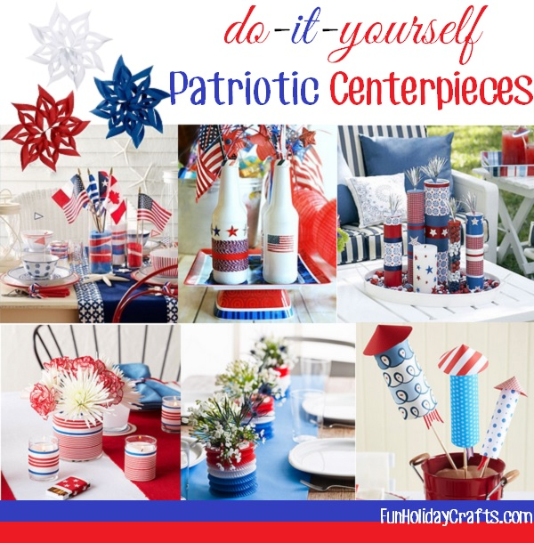 patriotic party centerpieces