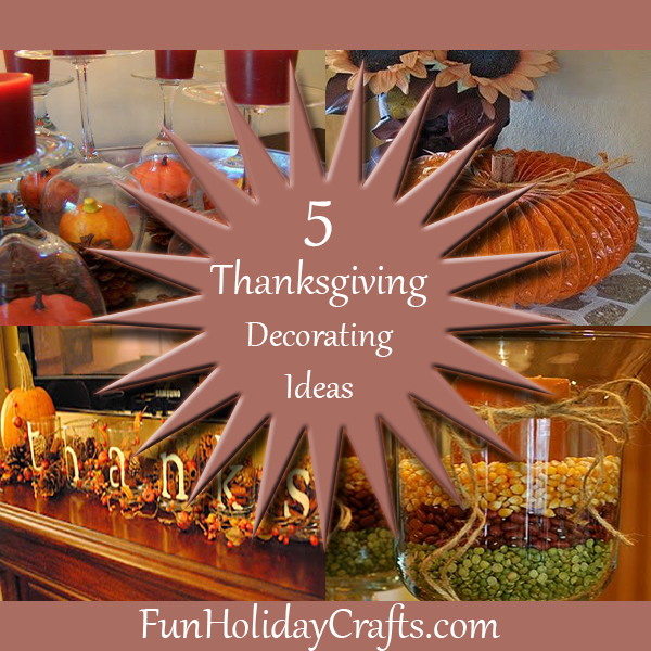 Thanksgiving Decoration Ideas thanksgiving decor idea - cornucopia