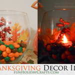 Thanksgiving Decor Idea – Table Decor
