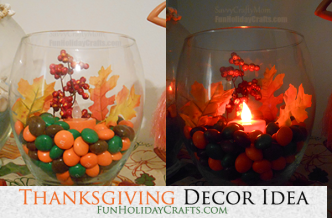 Thanksgiving arts and crafts ideas fun holiday crafts for Cheap thanksgiving table decorations