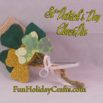 St Patrick's Day Goodies - Clover Pin