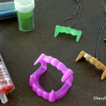 Holiday Crafts for Teens: Vampire Fang Necklace
