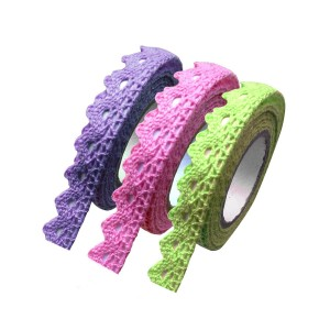 Colorful Lace Washi Tape