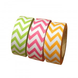 Spring Chevron Washi Tape Collection